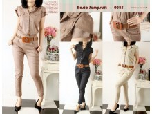 Jumpsuit Military Twill #2345