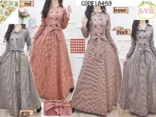 Long coat Katun #8459