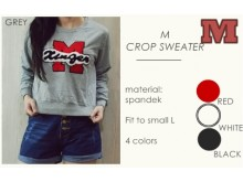 Sweater Crop Logo #MCS