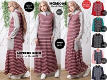 Gamis Babyterry Lemone Stripe #MGM1004