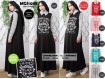 Gamis Babyterry white stripe #MGS1039