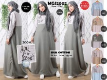 Gamis Katun 'You Are Loved' #MGS2002