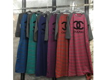 Gamis Stripes Chanel