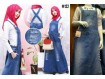 Overall Dress Wash Sobek #122 M/L/XL