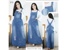 Overall Dress Jeans Ripped Jumbo #212 4XL/5XL