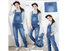Overall jeans stretch polos #215 M/L/XL