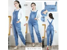 Overall jeans wash stretch muda #229 M/L/XL