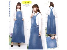 Dress Kodok Jeans Stretch #230 M/L/XL