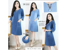 Dress Jeans Leher Kristal & Mutiara #232