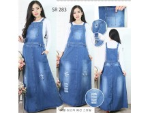 Overall Dress Jeans Sobek #283 M/L/XL