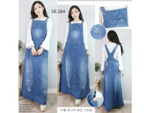Overall Dress Jeans Ripped Jumbo #284 2XL/3XL/4XL