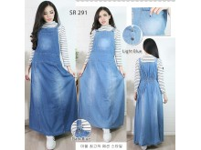 Overall Dress Kodok Jeans Stretch #291