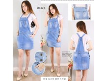 Rok kodok jeans stretch #304 M/L/XL