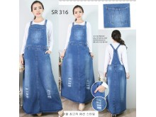 Overall Dress Jeans Sobek #316 XL/2XL/3XL
