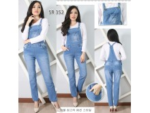 Overall jeans stretch polos #352 M/L/XL