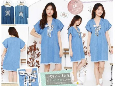 Dress Jeans Ikat Tali #3575