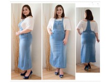 Overall Dress Jeans Stretch #362 2XL/3XL/4XL