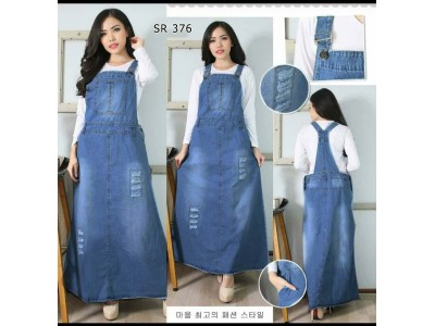 Overall Dress Jeans Stretch Tua #376 2XL/3XL/4XL