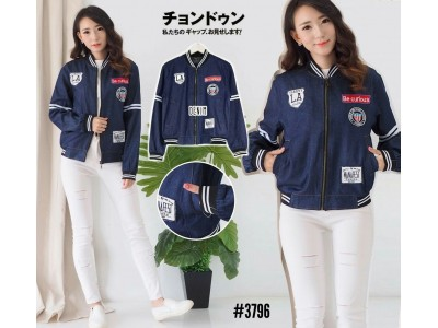 Bomber Jacket Denim LA #3796
