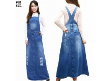 Overall Dress Wash Sobek Baru #124 M/L/XL