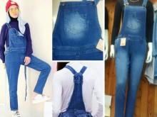 Jumpsuit Jeans Stretch Jumbo #104 2XL/3XL/4XL