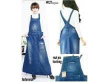 Overall Dress Wash Sobek Tua #127 XL/2XL/3XL