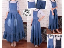 Overall Dress Jeans Rumbai #B6191
