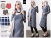 Tunic Cordoray Kotak-Kotak #AT5008