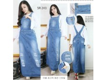 Overall Dress Jeans Sobek Muda #243 M/L/XL