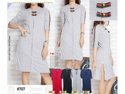 Dress Kaos Pita Gucci #7137