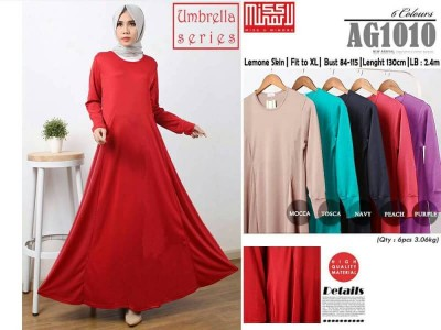 Gamis Maxi Dress Payung XL #AG1010