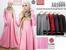 Gamis Flare Dress XL #AG1009