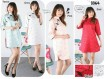 Cheongsam Dress Lengan 3/4 #3364