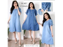 Dress Jeans Kancing #347