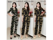 Jumpsuit Army Scuba #3667