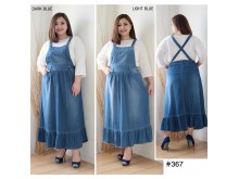 Overall Dress Jeans Renda Jumbo #367 2XL/3XL/4XL