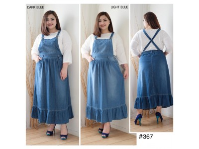 Overall Dress Jeans Mermaid Jumbo #367