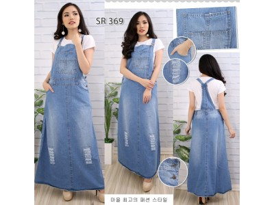 Overall dress jeans rip #369 M/L