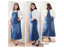 Overall Dress Jeans Stretch Tua #371 2XL/3XL/4XL