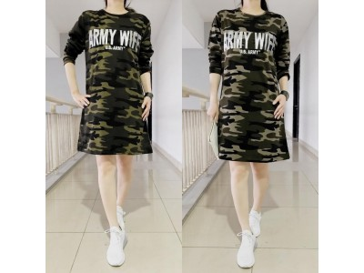 Babyterry Dress Army Wife #7110