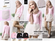 Dress Lengan Panjang Hijab #MTM1007