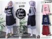 Dress Lengan Panjang Hijab #MTS1018