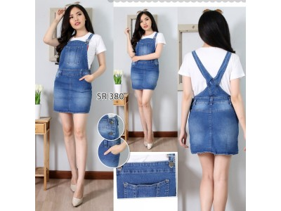 Rok Overall Jeans #380 M L XL