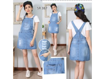 Rok Overall Jeans #387 M L XL