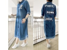 Dress Jeans Kancing #8401