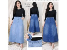 Rok Maxi Strecth Jeans #418