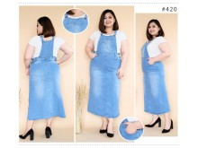 Overall Dress Jeans Strecth #420 2XL 3XL 4XL