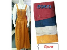 Overall Dress Katun Cigaret #89619