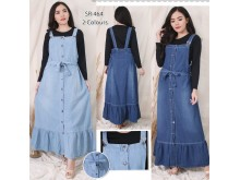 Jumpsuit Dress Jeans Rumbai #464
