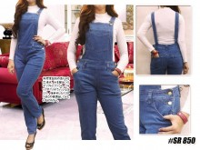 Jumpsuit Jeans stretch M L XL  #SR850